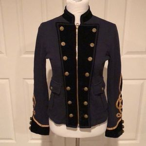 Ralph Lauren Navy Denim & Supply Military Jacket M